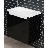 Kalusteryhmä Tammiholma CT-500MU, vedenkestävä, musta + valkoinen koristelista