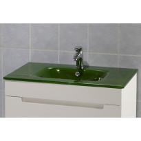 Lasiallastaso, 750x150x460mm, vihreä