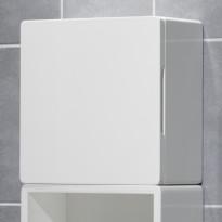 Tarvikekaappi PV-05, 30x30cm, valkoinen