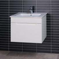Allaskaappi PV-60, 58x48cm, 100 % vedenkestävä, valkoinen