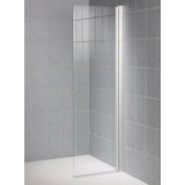 Suihkuseinä TAD, 45x190 cm, kirkas lasi