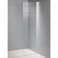 Suihkuseinä TAD, 60x190 cm, kirkas lasi