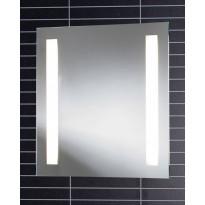 Valopeili LED-valaisimella Tammiholma Oxford, 60x60cm, 28W, pistorasia, huurteenesto