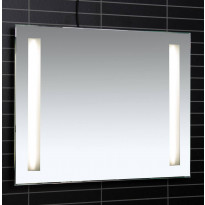 Valopeili LED-valaisimella Tammiholma Bolton, 75x60cm, 28W, pistorasia, huurteenesto