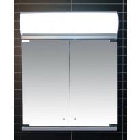 Peilikaappi LED-valaisimella Tammiholma Siena, 60x72cm, 28W, vikavirtasuojakytkin, Verkkokaupan poistotuote