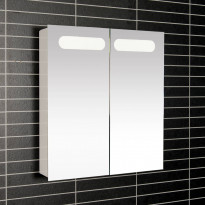 Peilikaappi LED-valaisimella Tammiholma Imola, 53x60cm, 16,2W, vikavirtasuojakytkin