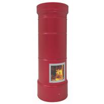 Pönttöuuni Tiileri Aino Ruusu, 1650-2250x750mm, varaava