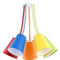 Kattovalaisin TK Lighting Wire Color 2107, 5-osainen, monivärinen