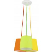Riippuvalaisin TK Lighting Artos Color 2214, 3-osainen, monivärinen