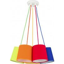 Riippuvalaisin TK Lighting Artos Color 2215, 5-osainen, monivärinen, Verkkokaupan poistotuote