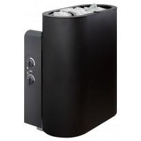 Sähkökiuas Tulikivi Halla 9 kW ST (8-13 m³) musta