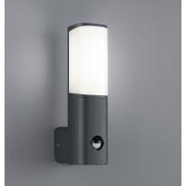 Seinävalaisin Ticino LED 5,5W, liiketunnistin, musta