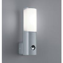 Seinävalaisin Ticino LED 5,5W, liiketunnistin, harmaa