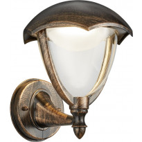 LED-seinävalaisin Trio Gracht 221960128, 200x240 mm, rustiikki