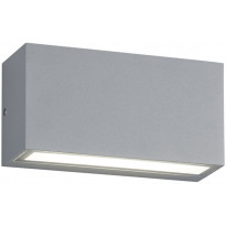 LED-seinävalaisin ulos Trio Trent 50x140x70mm, titaani