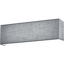 LED-seinävalaisin Trio Lugano, 250x80 mm, harmaa