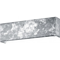 LED-seinävalaisin Trio Lugano, 250x80 mm, hopea