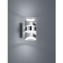 LED-seinävalaisin Trio H2O 165x85 mm, kromi