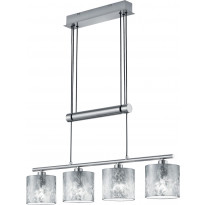 Riippuvalaisin Trio Garda, 770x1500x135 mm, hopea