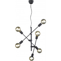 Riippuvalaisin Trio Cross, ø545x1500mm, mattamusta