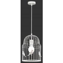 Riippuvalaisin Trio Birdy, Ø 245x1460mm, valkoinen