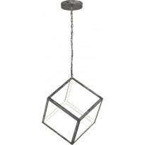 LED-riippuvalaisin Trio Dice, 300x1500x300 mm, antiikkiharmaa