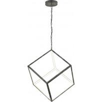 LED-riippuvalaisin Trio Dice, 400x1500x400 mm, antiikkiharmaa