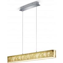 LED-riippuvalaisin Trio Lugano, 1000x1500x85 mm, kulta