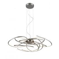 LED-riippuvalaisin Trio Salina 1000x2000x600 mm, harjattu teräs
