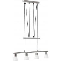 LED-riippuvalaisin Trio Carico, 745x1600x70mm, harjattu teräs