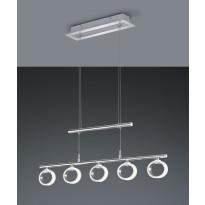 LED-riippuvalaisin Corland, 850x11x1600mm, kromi