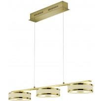LED-riippuvalaisin Trio Agento, 1600x900x200mm, mattamessinki