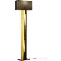 LED-lattiavalaisin Trio Nestor, 1600x450x200mm, musta/kulta
