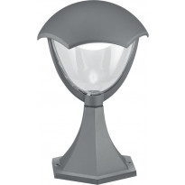 LED-pollarivalaisin Trio Gracht, Ø 200x310 mm, antrasiitti
