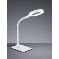 LED-pöytävalaisin Trio Lupo Ø 135x350 mm, valkoinen