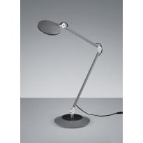 LED-pöytävalaisin Trio Roderic Ø 190x500 mm, musta