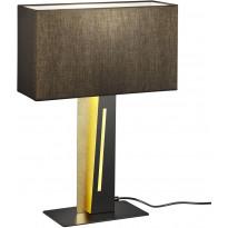 LED-pöytävalaisin Trio Nestor, 560x400x150mm, musta/kulta