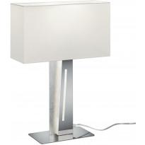 LED-pöytävalaisin Trio Nestor, 560x400x150mm, valkoinen/hopea