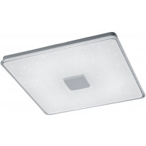 LED-plafondi Trio Kyoto, 730x72x730mm, valkoinen, starlight