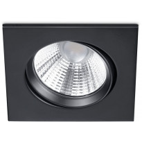 LED-alasvalo Trio Pamir, 85x54x85mm, IP23, mattamusta