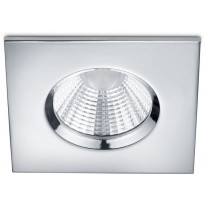LED-alasvalo Trio Zagros, 85x54x85mm, IP65, kromi