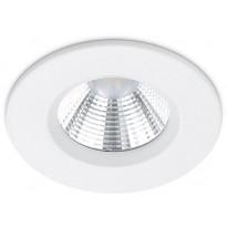 Upotettava LED-alasvalo Trio Zagros, Ø8,5 cm, valkoinen, IP65