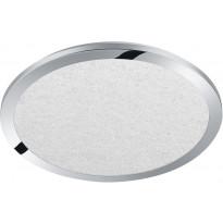 LED-kattovalaisin Trio Cesar, ø400x30mm, IP44, kromi, Verkkokaupan poistotuote