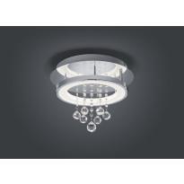 LED-kattovalaisin Trio Dorian Ø 350x275 mm, kromi pyöreä