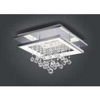 LED-kattovalaisin Trio Dorian 450x450x305 mm, kromi neliö