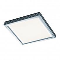 LED-paneeli Future II, 16W 3000K 1450lm, 315x315x45mm, harjattu alumiini