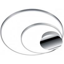 LED-kattovalaisin Trio Sedona 60x610x600mm, harjattu alumiini, Verkkokaupan poistotuote