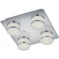 LED-kattovalaisin Trio Clinton, 280x90x280mm, kromi