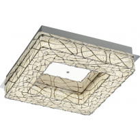 LED-kattovalaisin Trio Aramis, 400x90x400 mm, kromi, Tammiston poistotuote