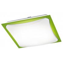 Plafondi Cornet LED, vihreä